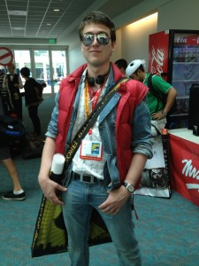 Fake Marty McFly at Comic-Con