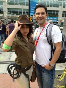 Female Indiana Jones