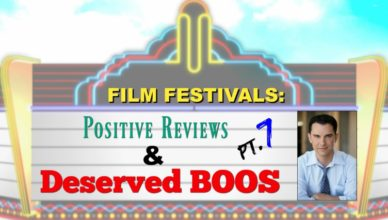 Film Festivals: Positive Reviews & Deserved Boos: Pt. 6 - Dam Short, ICE & River Run International Film Festivals
